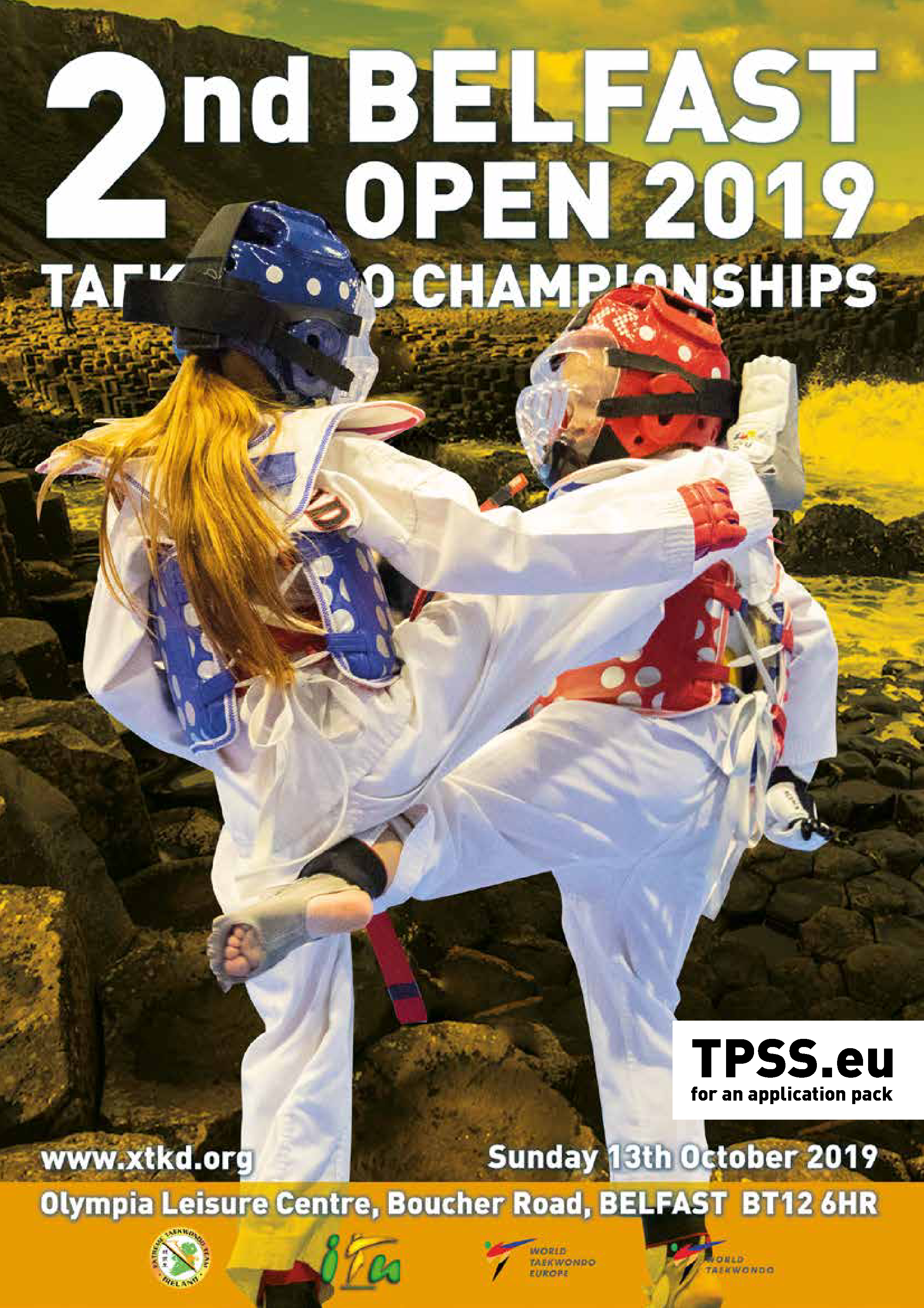 TPSS 2018 - TaekoPlan Tournament Subscription Site - Now supporting